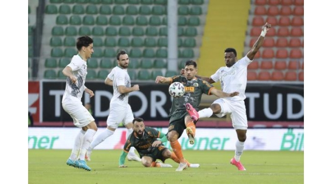Aytemiz Alanyaspor - İttifak Holding Konyaspor: 1-0