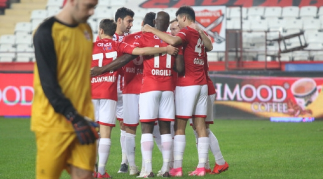 Antalyaspor 3-1 Fatih Karagümrük