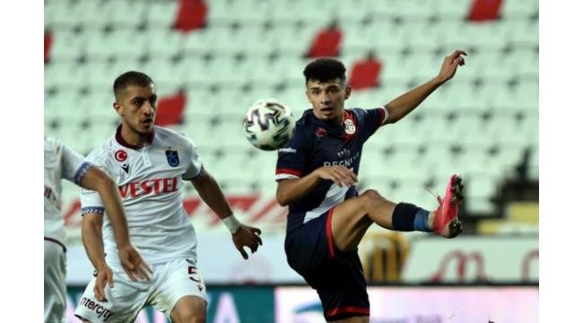 Fraport TAV Antalyaspor - Trabzonspor: 1-1