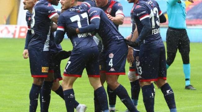 Antalyaspor'da hedef önce lig maçı ardından da kupa finali