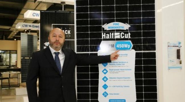 CW Enerji, 450 wattlık panel üretti