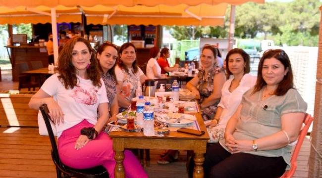 Muratpaşa Deniz Yüzü kafe, yeniden açıldı