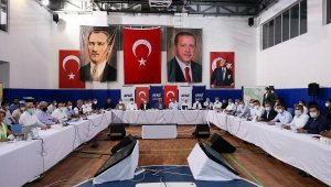 Bakan Çavuşoğlu, Manavgat'ta AFAD Koordinasyon Toplantısı'na katıldı