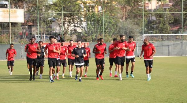 Aytemiz Alanyaspor'da Galatasaray hazırlıkları başladı