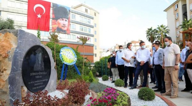 Maskeli Şebnem'in adı parkta yaşayacak