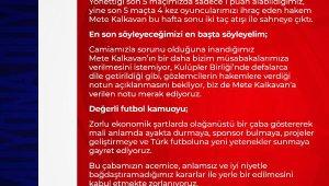 Antalyaspor, hakem Mete Kalkavan'ı maçlarında istemiyor