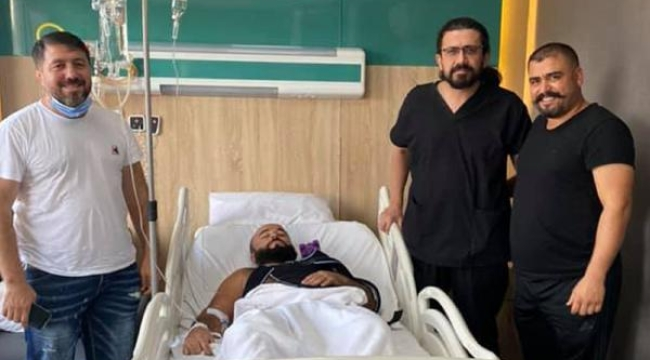 Başpehlivan Orhan Okulu, omzundan ameliyat oldu