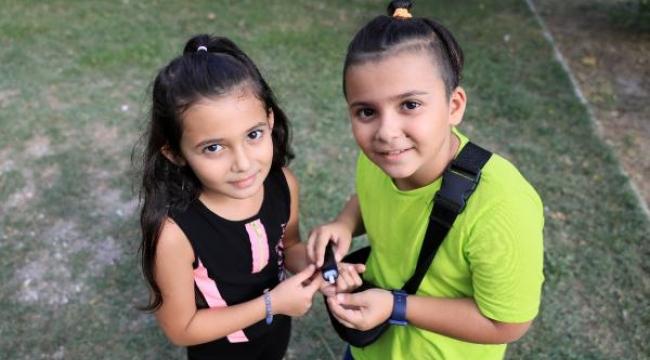 Emir ve Elif kardeşlerin 'kan şekeri' dayanışması