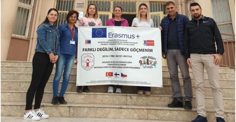 Altınova İlkokulu Avrupa'da