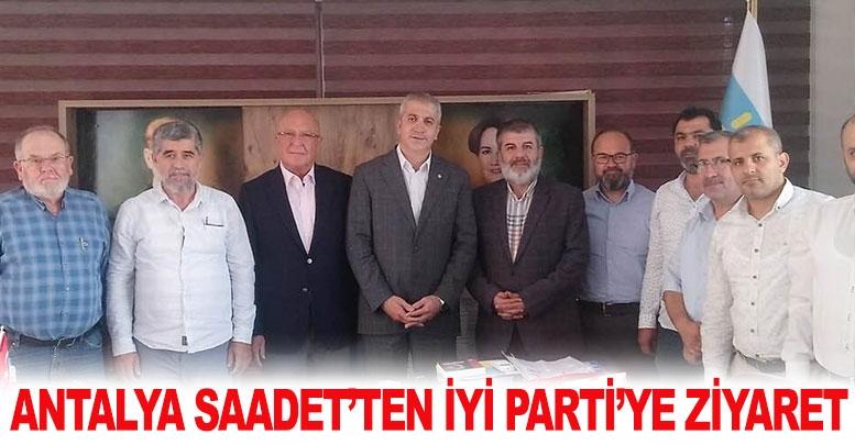 Antalya Saadet'ten İYİ Parti'ye ziyaret