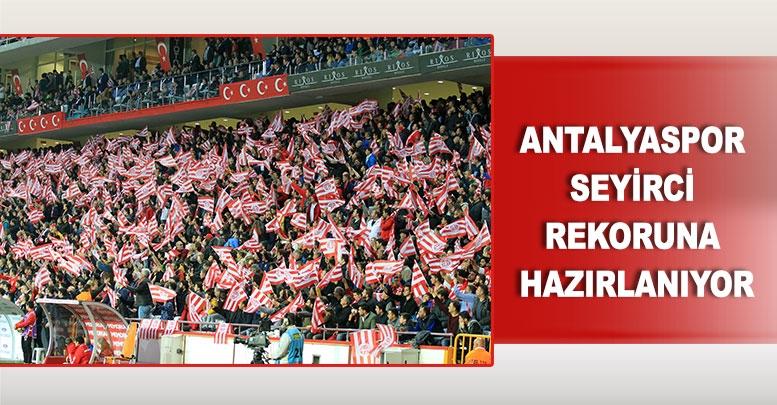 Antalyaspor seyirci rekoruna hazırlanıyor