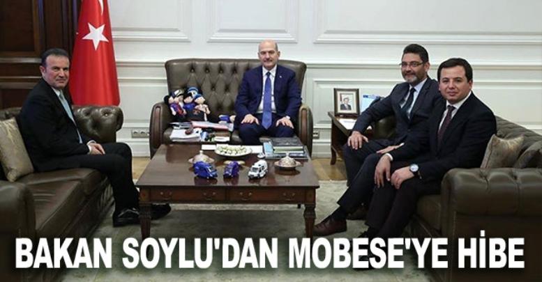 Bakan Soylu'dan Korkuteli'deki MOBESE'ye hibe