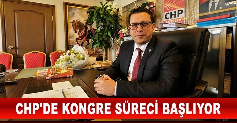 CHP'DE KONGRE SÜRECİ BAŞLIYOR