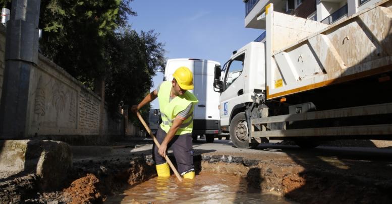 İçme suyu arızasına ASAT'tan hızlı müdahale