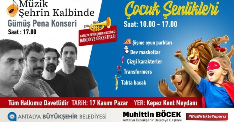 Kepez'de'Müzik Şehrin Kalbinde'