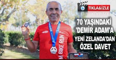 70 yaşındaki 'Demir Adam'a Yeni Zelanda'dan özel davet